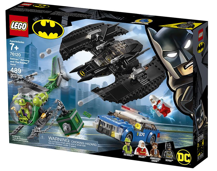 LEGO Batman 76120 Batwing and The Riddler Heist Box