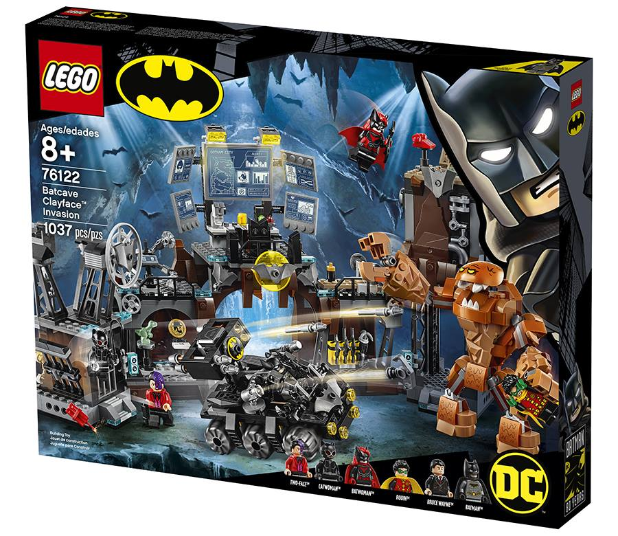 LEGO Batman 76122 Batcave Clayface Invasion Box