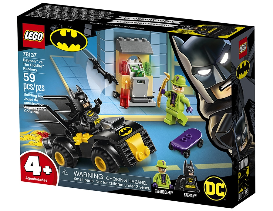 LEGO Batman 76137 Batman vs. The Riddler Robbery Box
