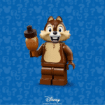 LEGO 71024 Minifigures The Disney Series 2: Chip & Chap - Chip (Ahörnchen)