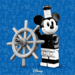 LEGO 71024 Minifigures The Disney Series 2: Steamboat Willie - Mickey Mouse