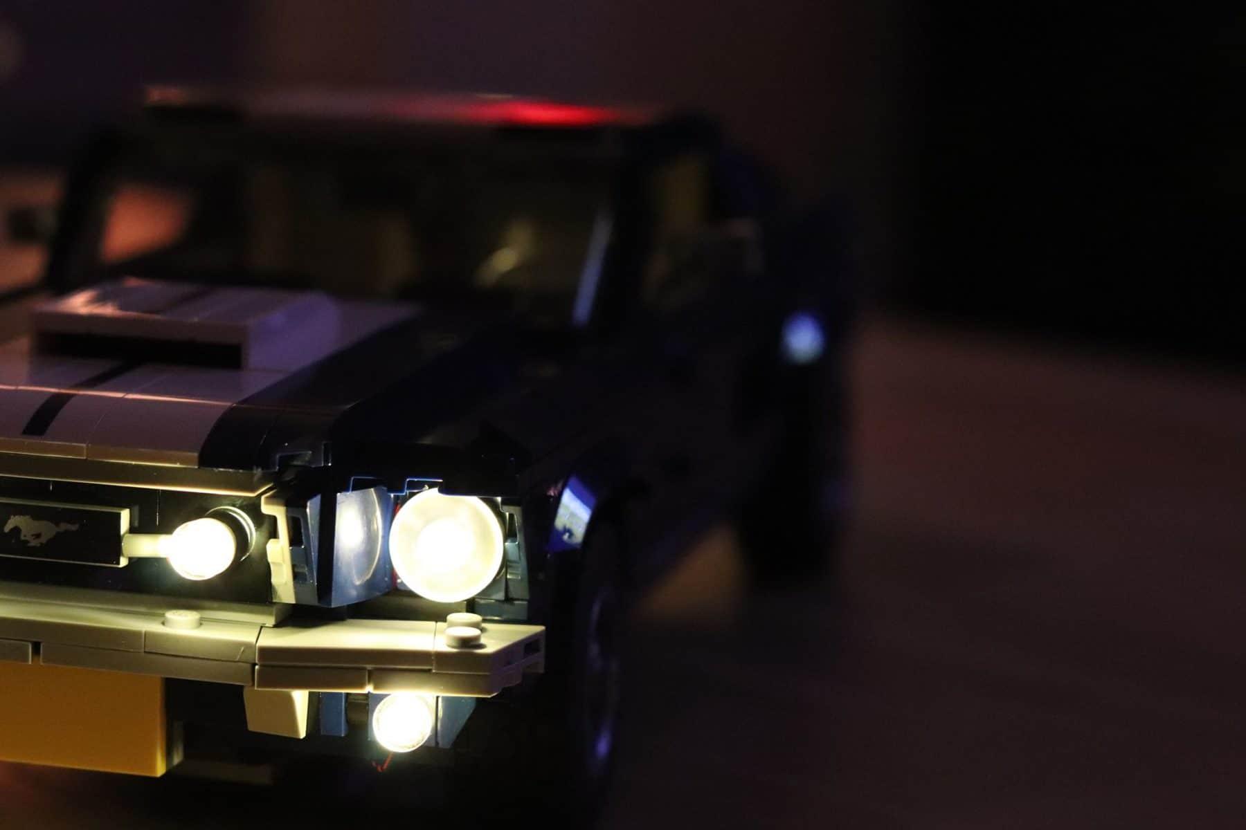 LEGO 10265 Ford Mustang beleuchtet