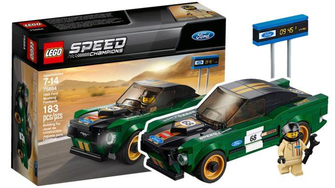 LEGO 75884 Ford Mustang Gratis