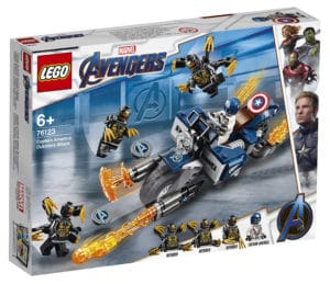 LEGO 76123 Catpain America: Outriders Attack