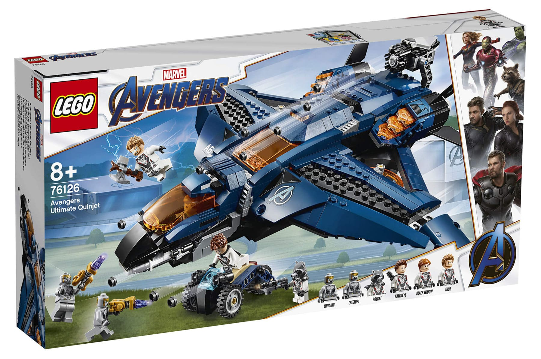 LEGO 76126 Avengers Ultimate Quinjet