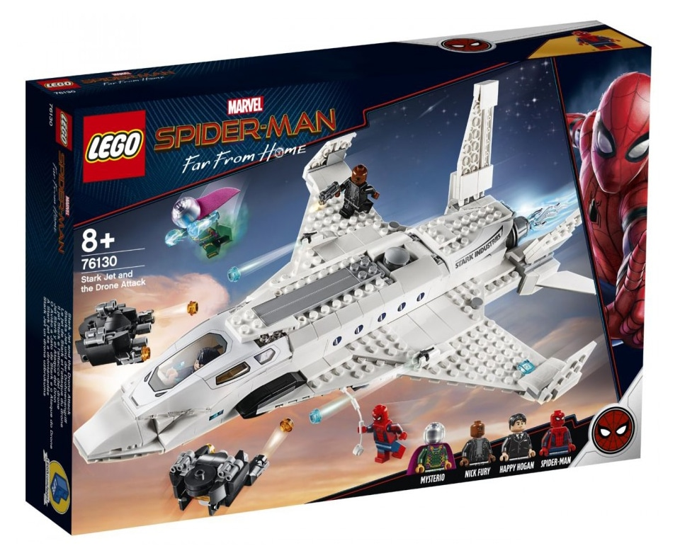 LEGO 76130 Stark Jet and the Drone Attack