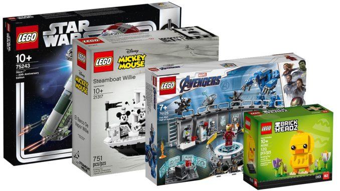 LEGO April Neuheiten 2019