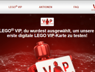 LEGO testet digitale VIP-Karte