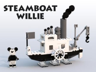 LEGO Ideas Entwurf für 21317 Steamboat Willie
