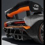 LEGO Speed Champions McLaren Senna in Originalgröße - Heckspoiler