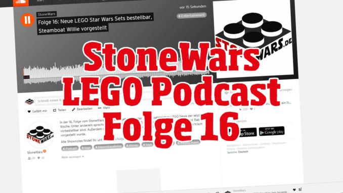 StoneWars LEGO Podcast Folge 16