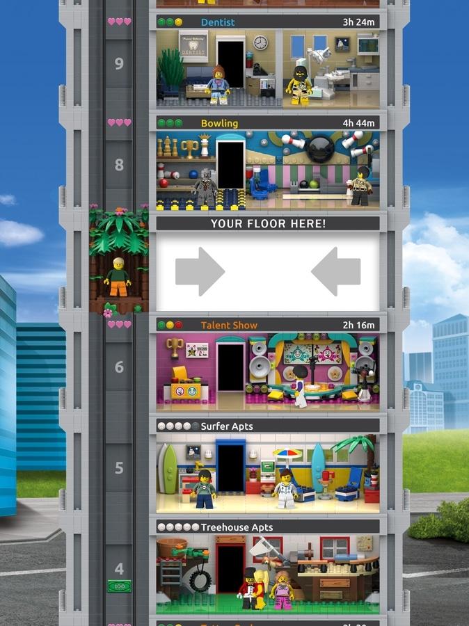 LEGO Tower Wettbewerb