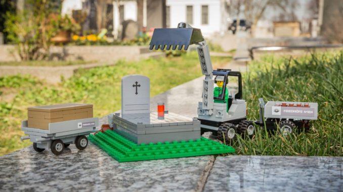 LEGO Bestattung
