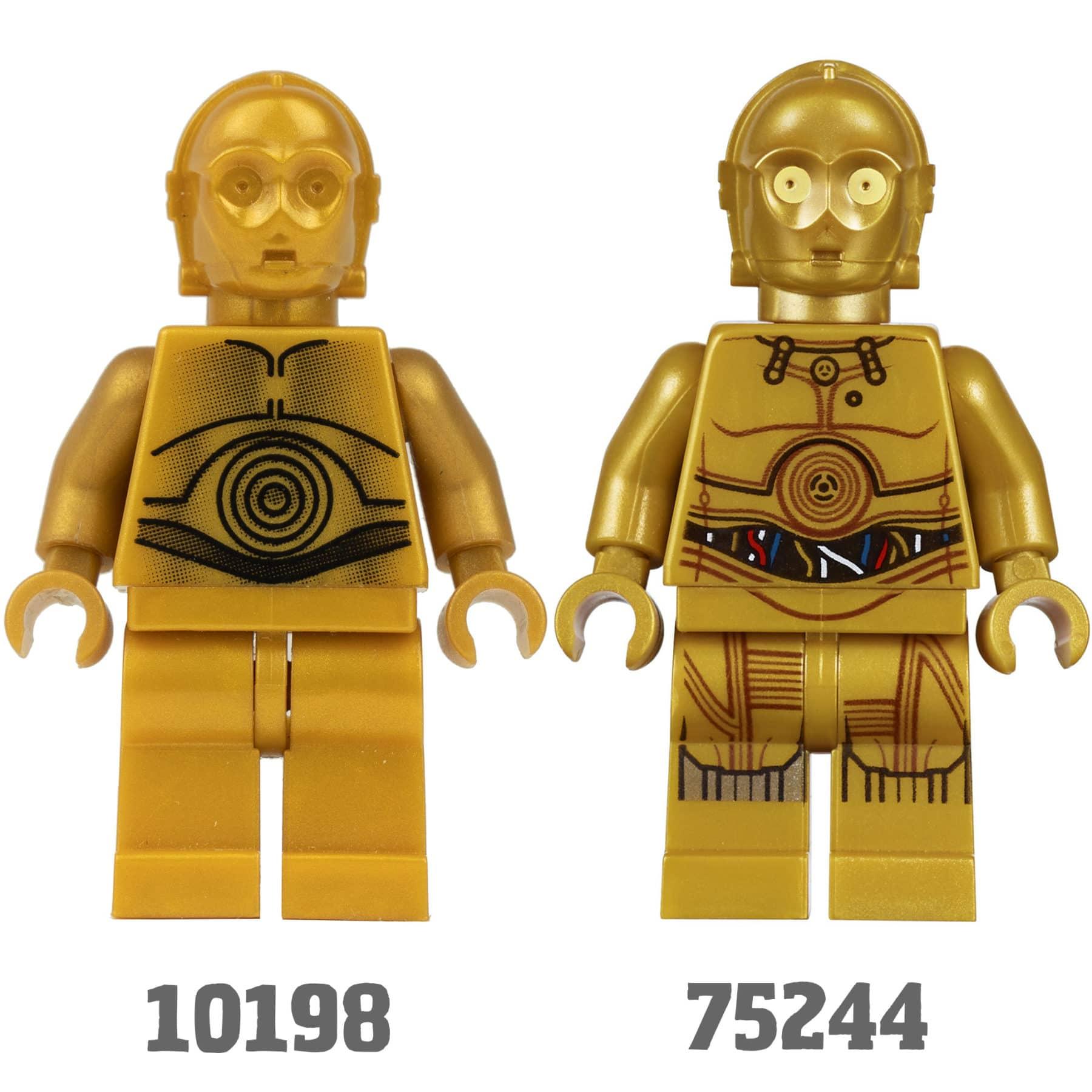 Tantive IV C-3PO vergleich