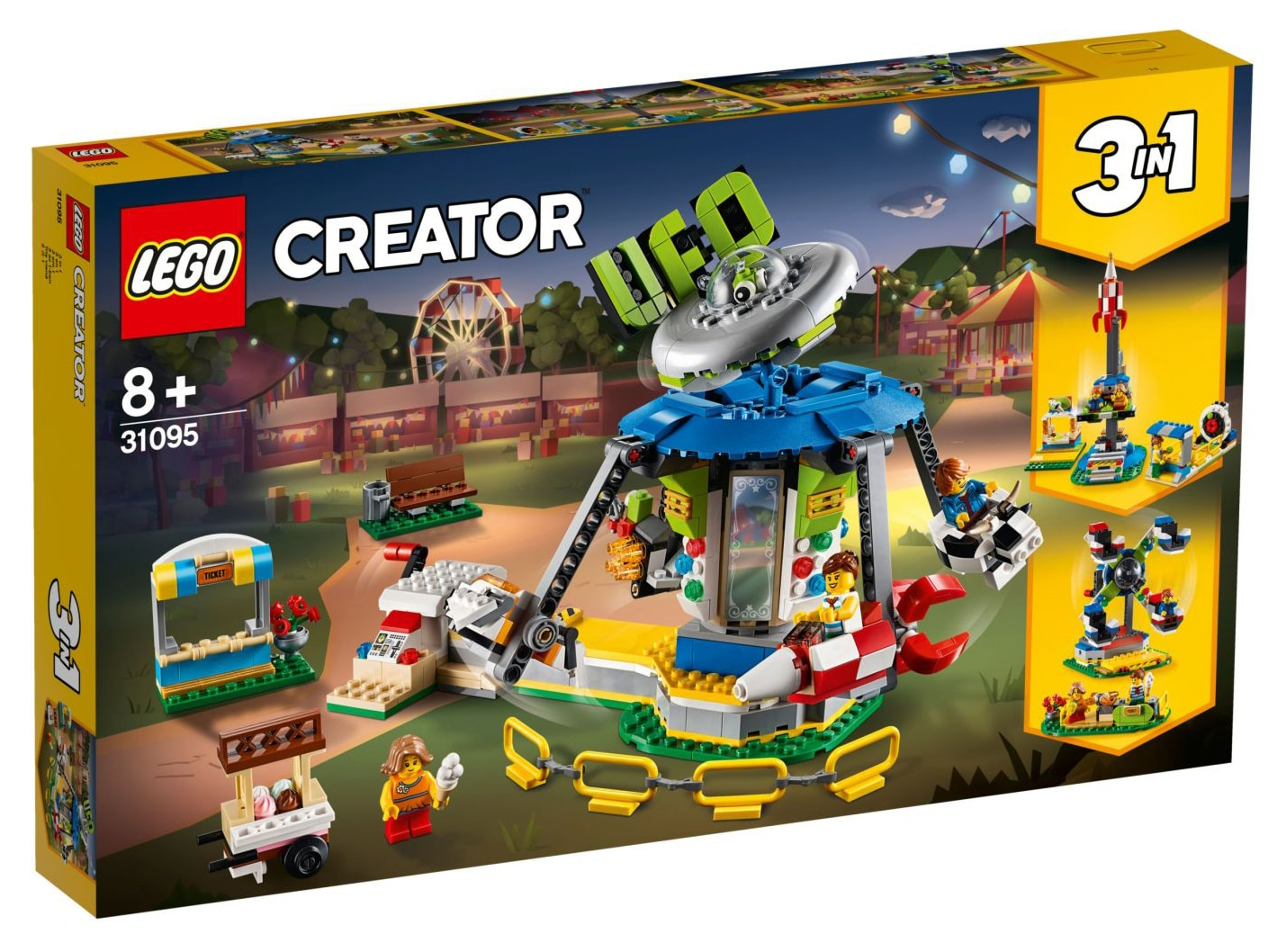 LEGO Creator 31095 UFO Karussell