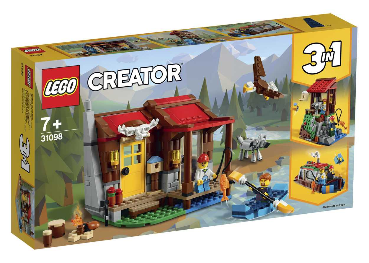 LEGO Creator 3in1 31098 Waldhaus am See 1