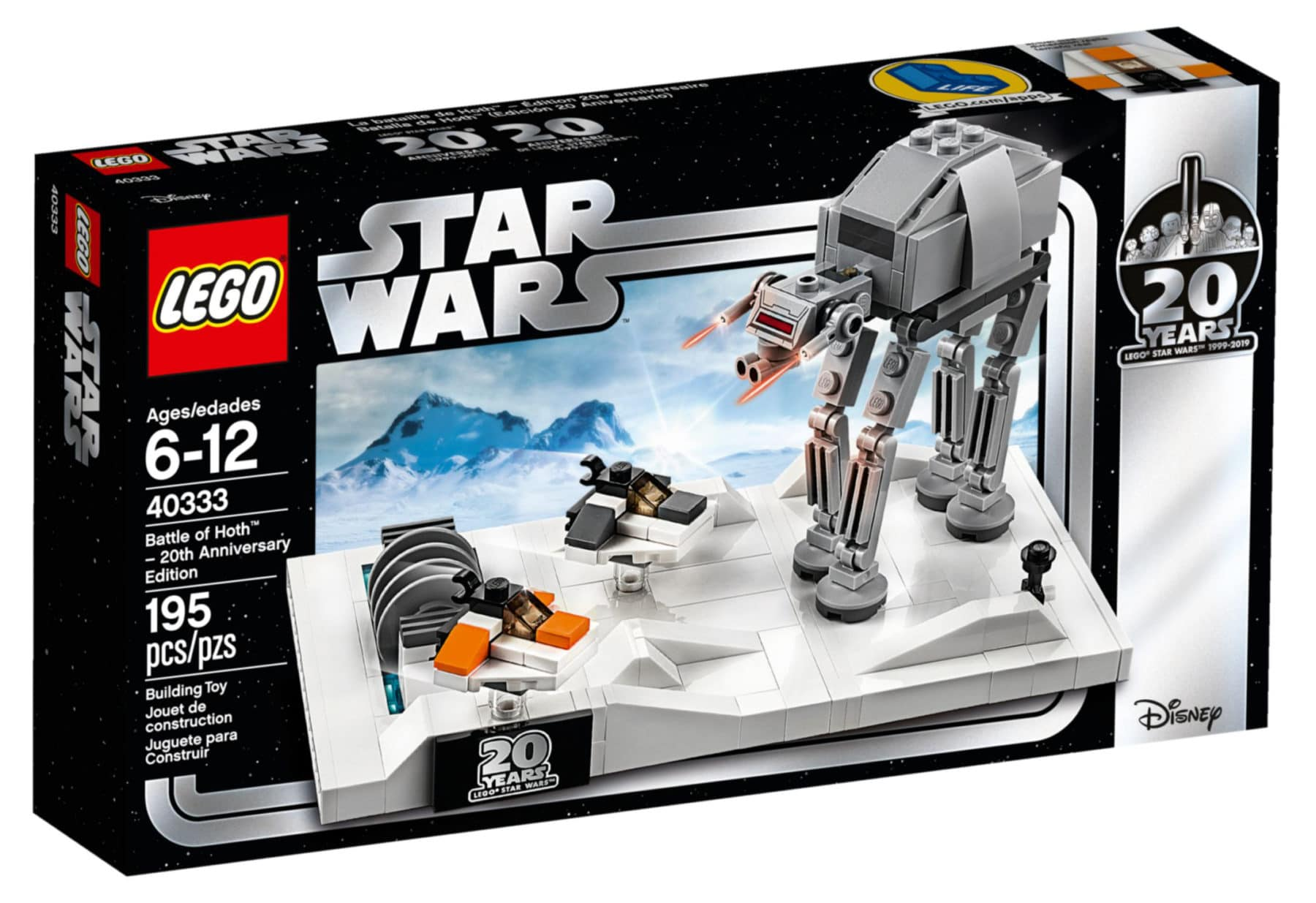 LEGO 40333 Battle of Hoth Box