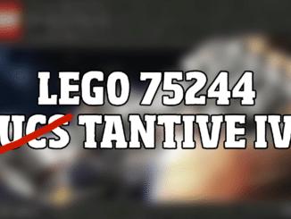 LEGO 75244 Tantive IV kein UCS Set
