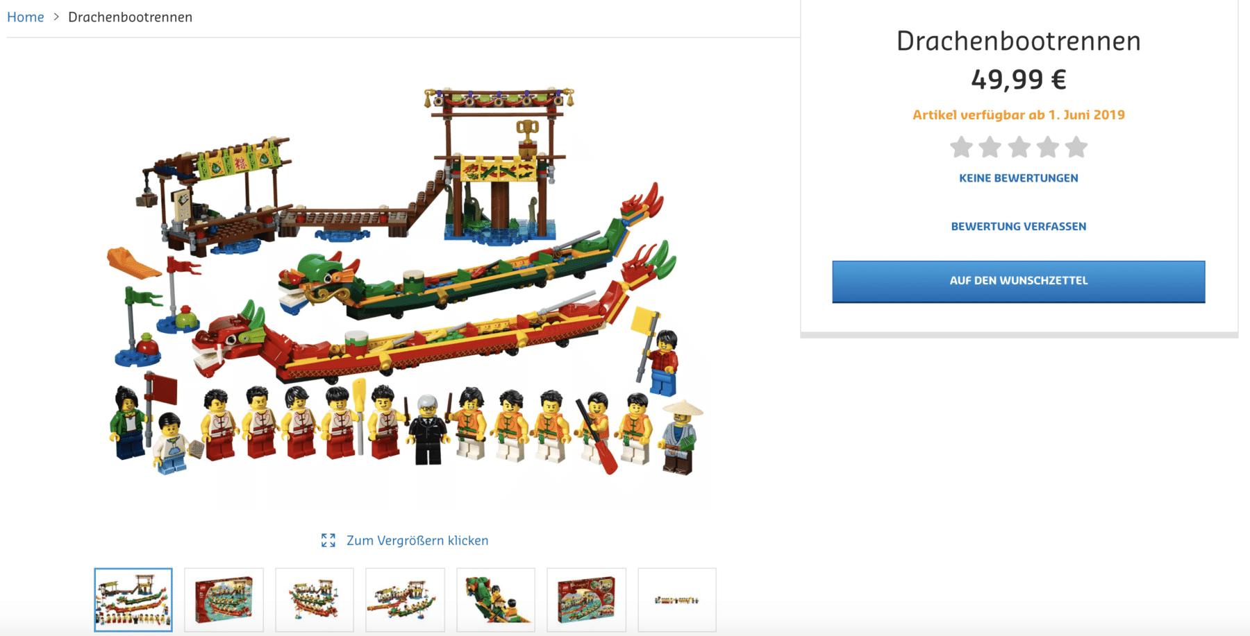 LEGO 80103 Deutschland
