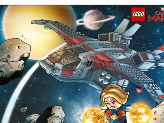 LEGO 5005877 Captain Marvel Poster