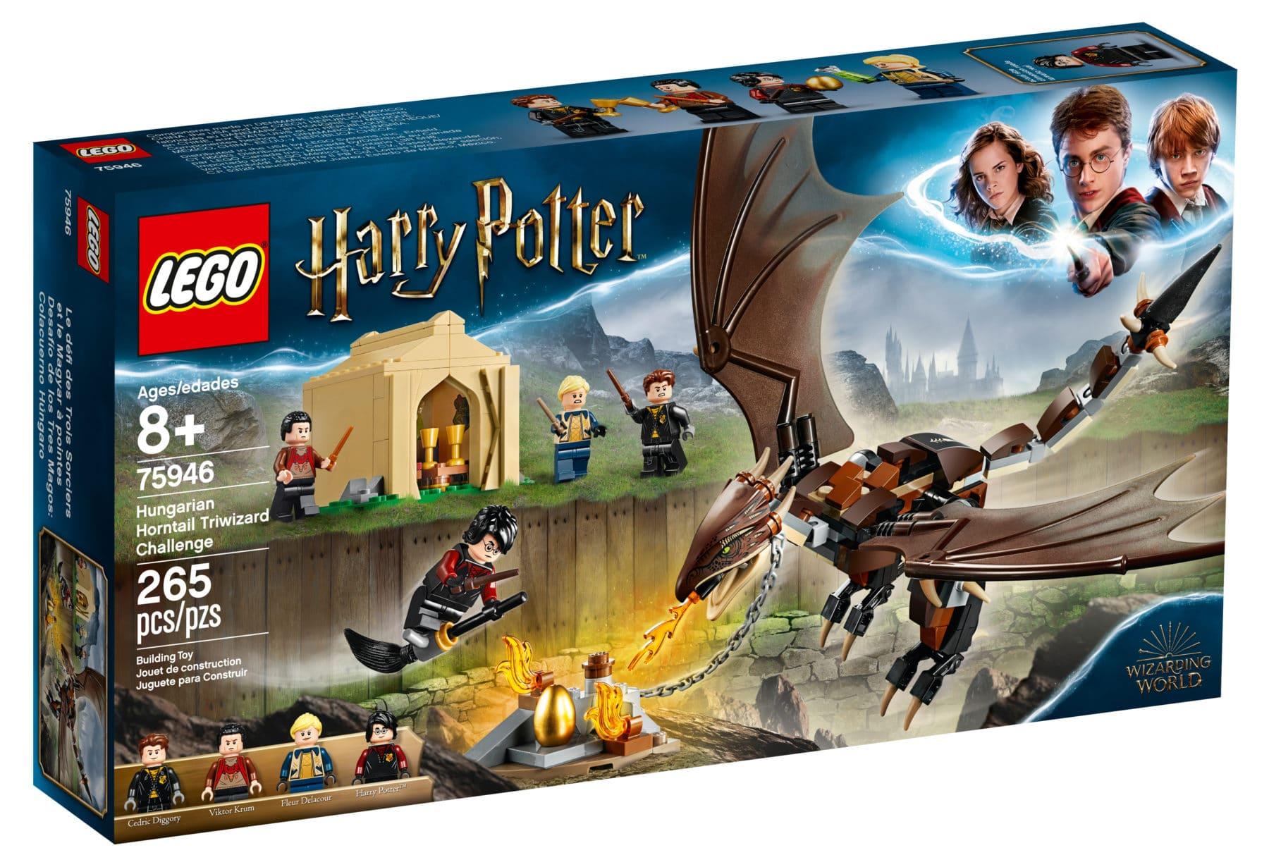 Lego® Harry Potter  1x Drachen Hornschwanz  aus Set 75946 Neu