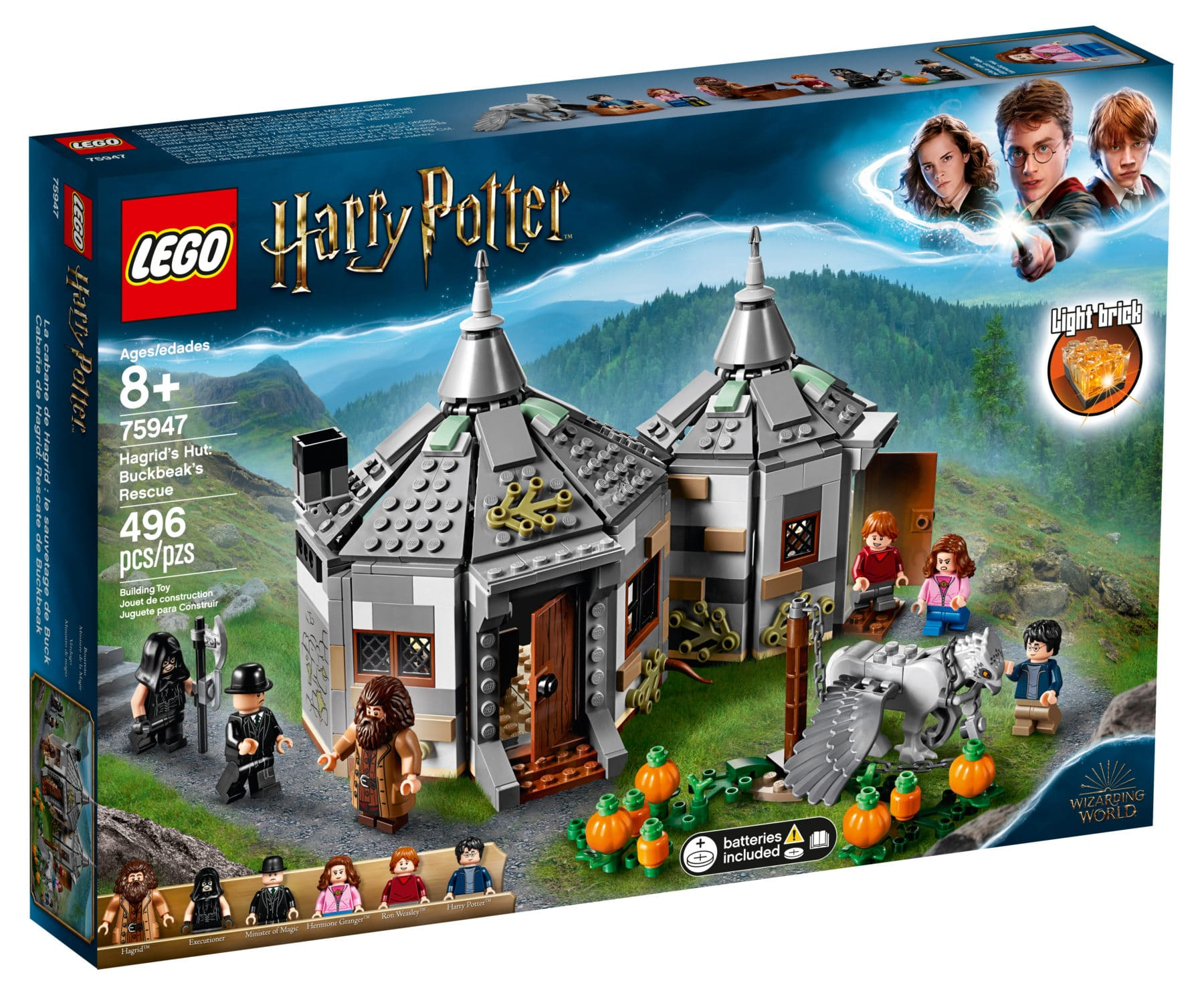 LEGO Harry Potter 75947 Hagrids Hütte
