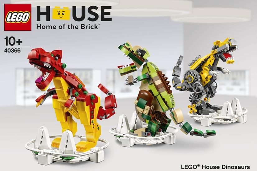 LEGO House 40336 Dinosaurs