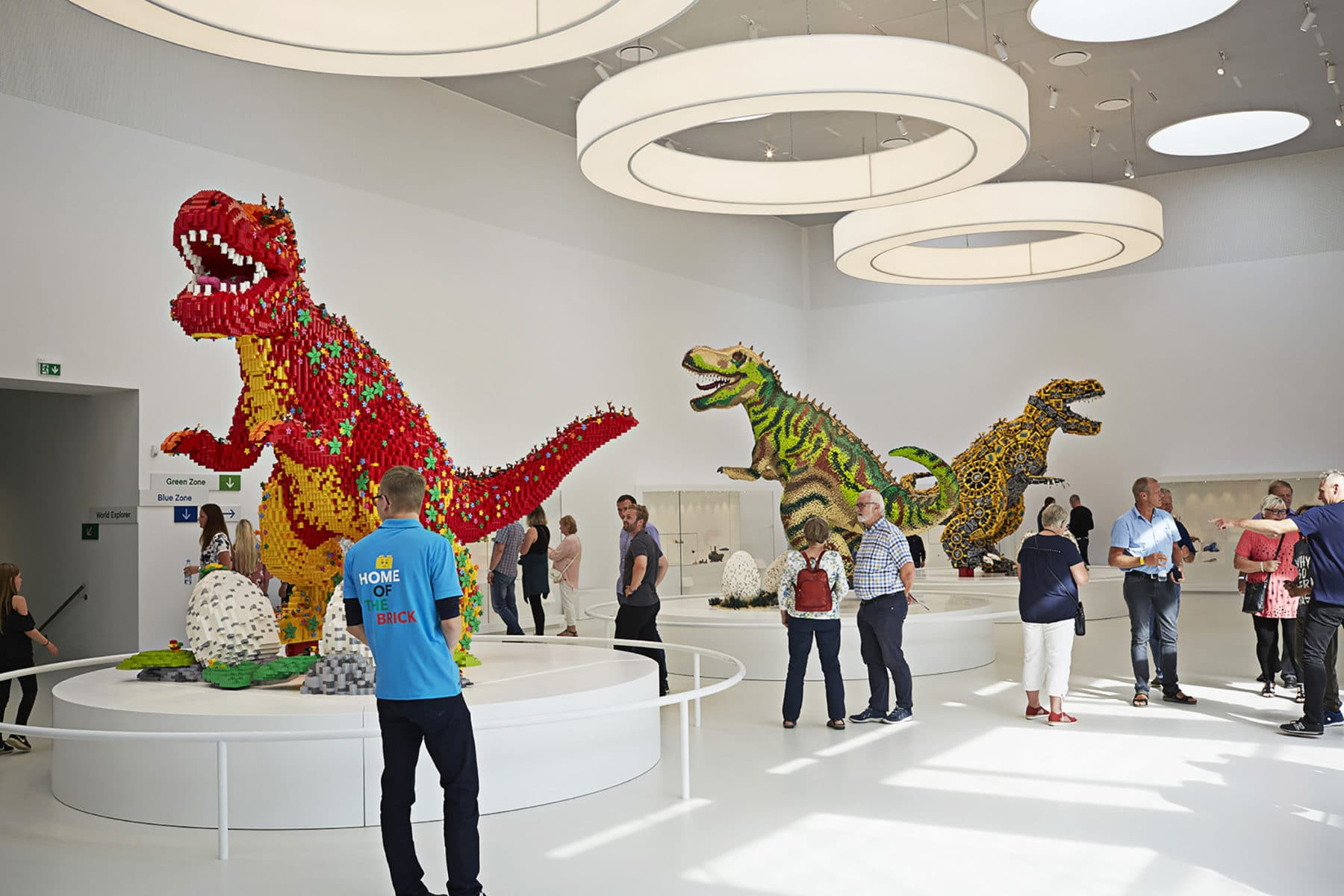 LEGO House Dinosaurier in der Masterpiece Gallery