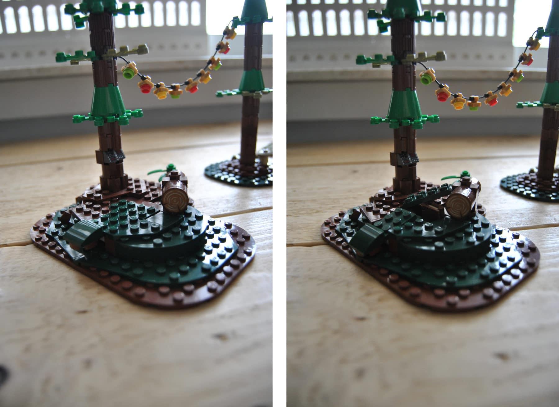 LEGO Ideas Mystery Shack Geheimtuer