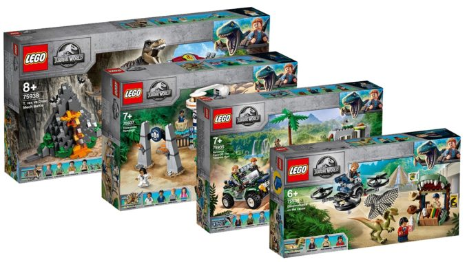 LEGO Jurassic World Juni 2019