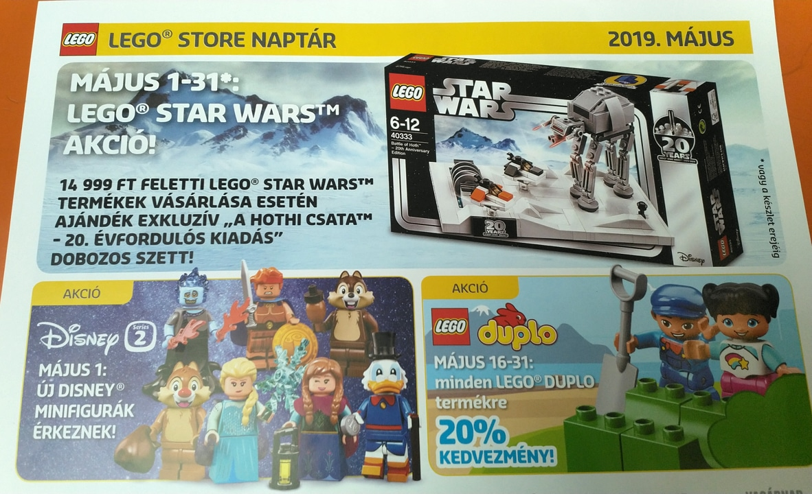 LEGO May the 4th Promotion Mai 2019