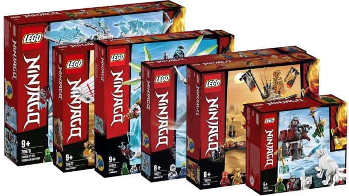 LEGO Ninjago Sets Sommer 2019