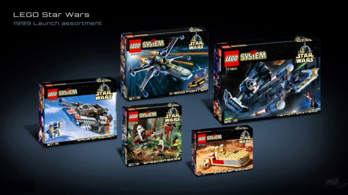 LEGO Star Wars Sets 1999