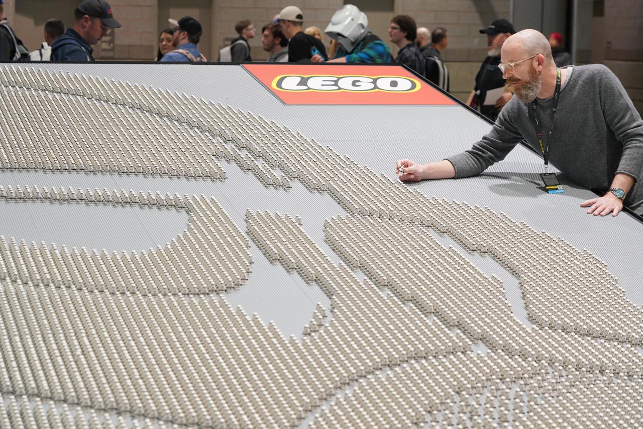 LEGO Star Wars Stormtrooper Aufbau