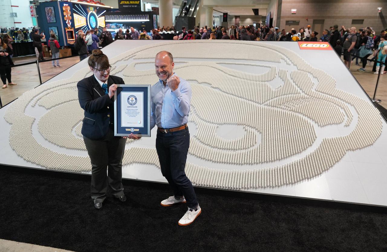 LEGO Star Wars Stormtrooper Guiness Weltrekord