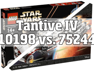 LEGO Tantive IV Vergleich