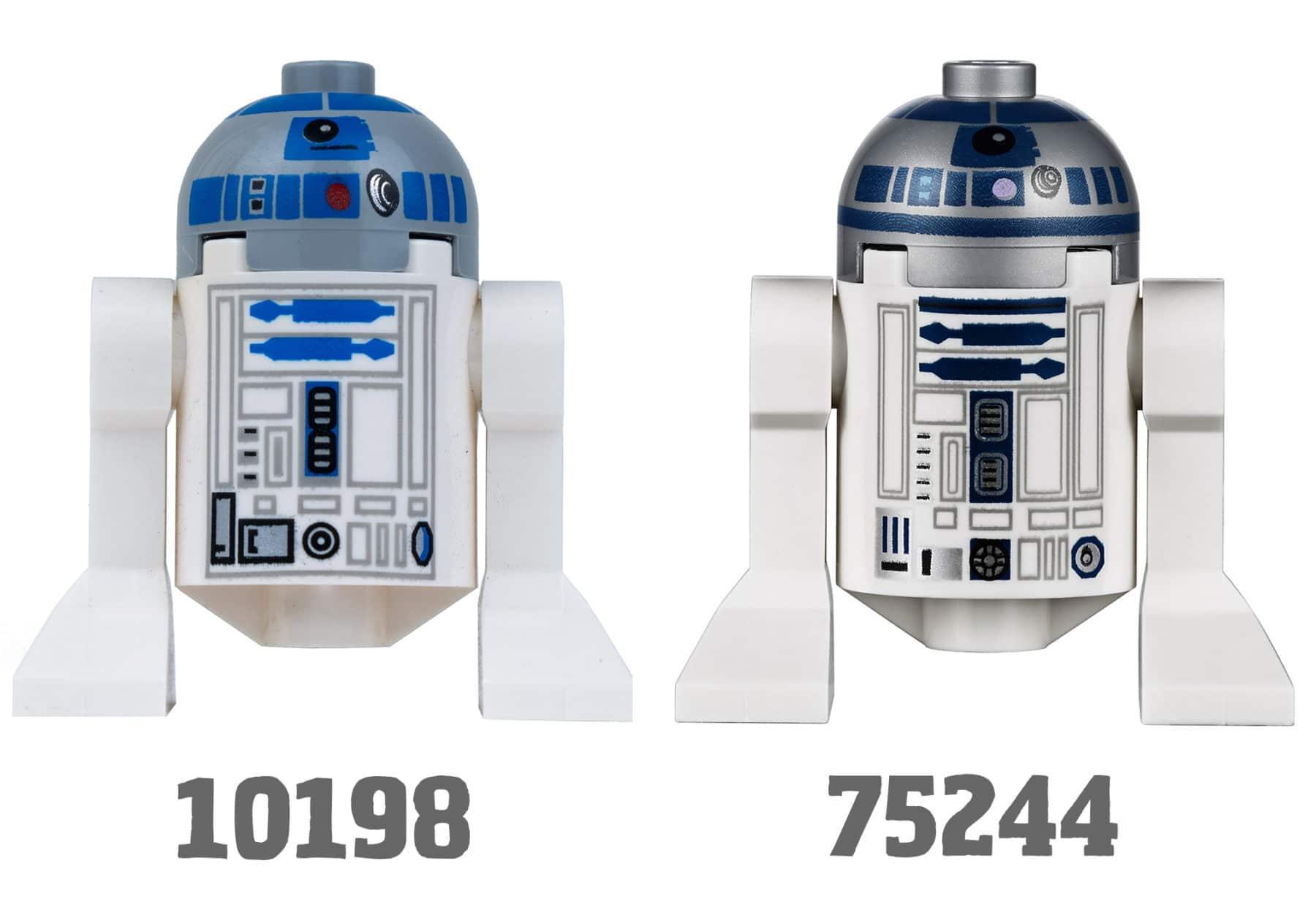 Tantive IV R2-D2 Vergleich