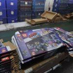 Beschlagnahmte LEPIN Kartons