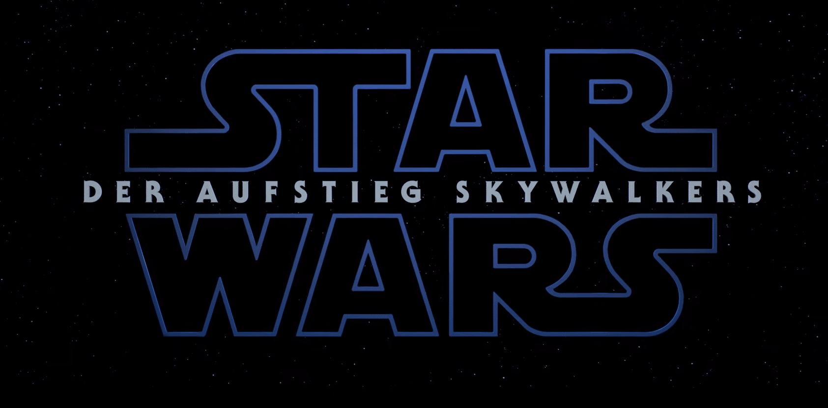 Der Aufstieg Skywalkers Trailer