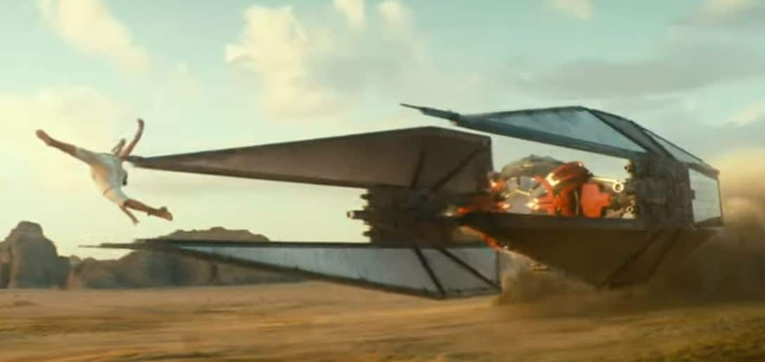 Star Wars Episode IX Trailer: TIE Interceptor
