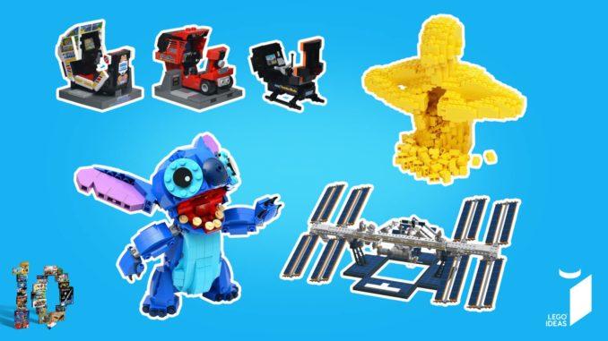 10 Jahre LEGO Ideas Wettbewerb