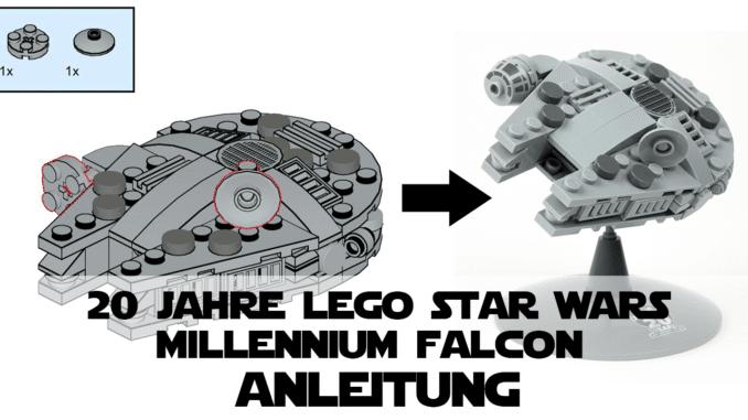 20 Jahre LEGO Star Wars Micro Millennium Falcon