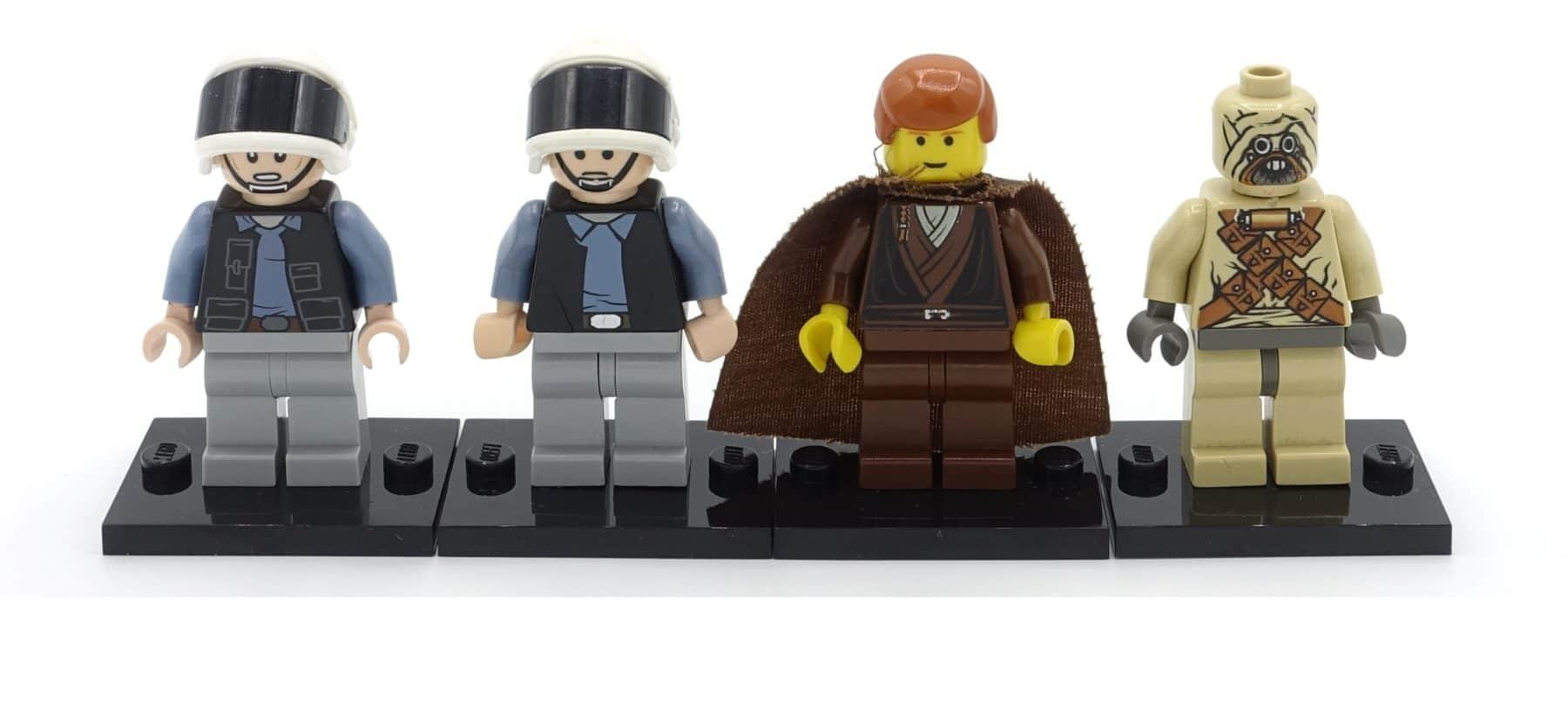 Verschiedene gebrauchte LEGO Star Wars Minifiguren
