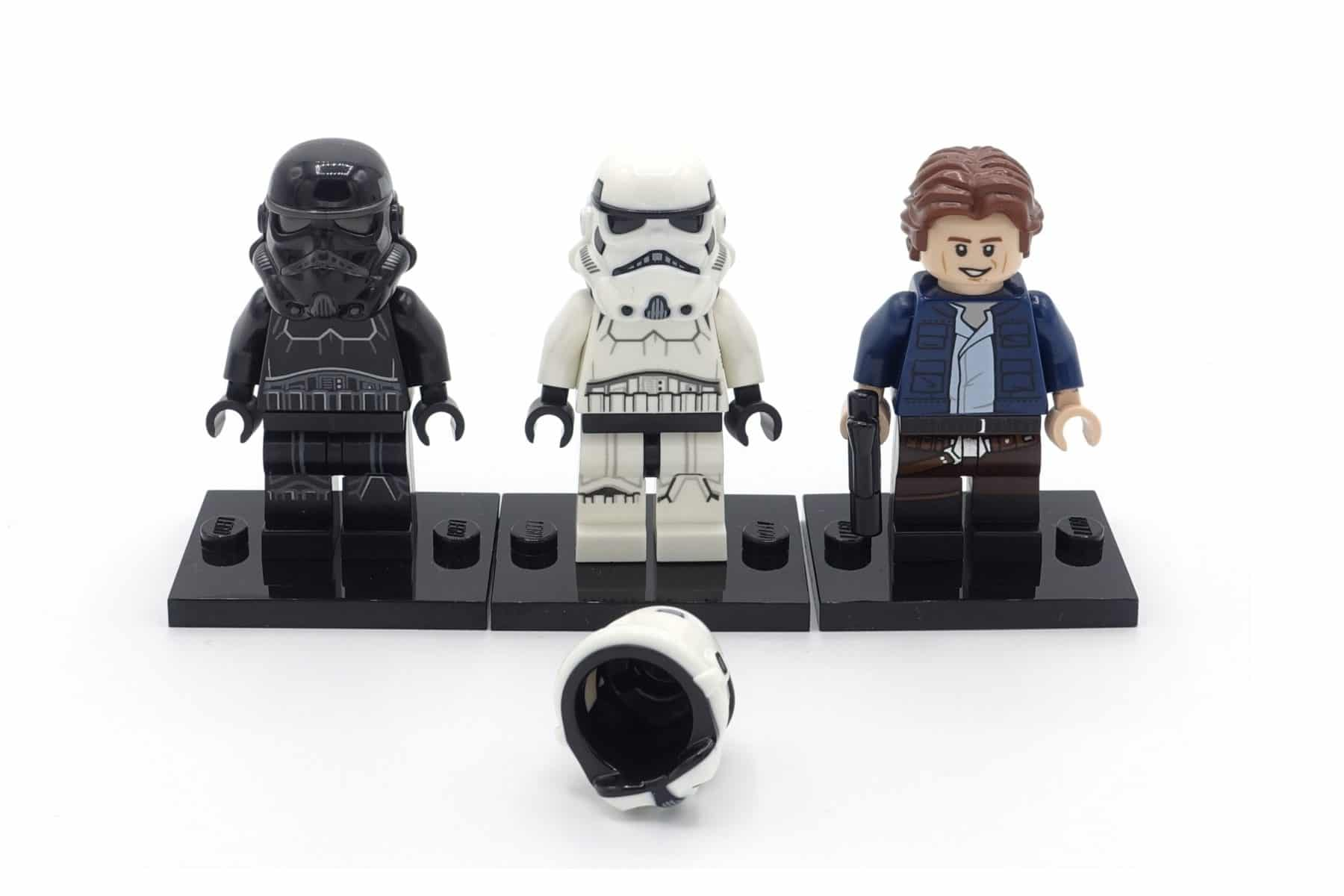 Dual Mold Technik bei LEGO Star Wars Minifiguren
