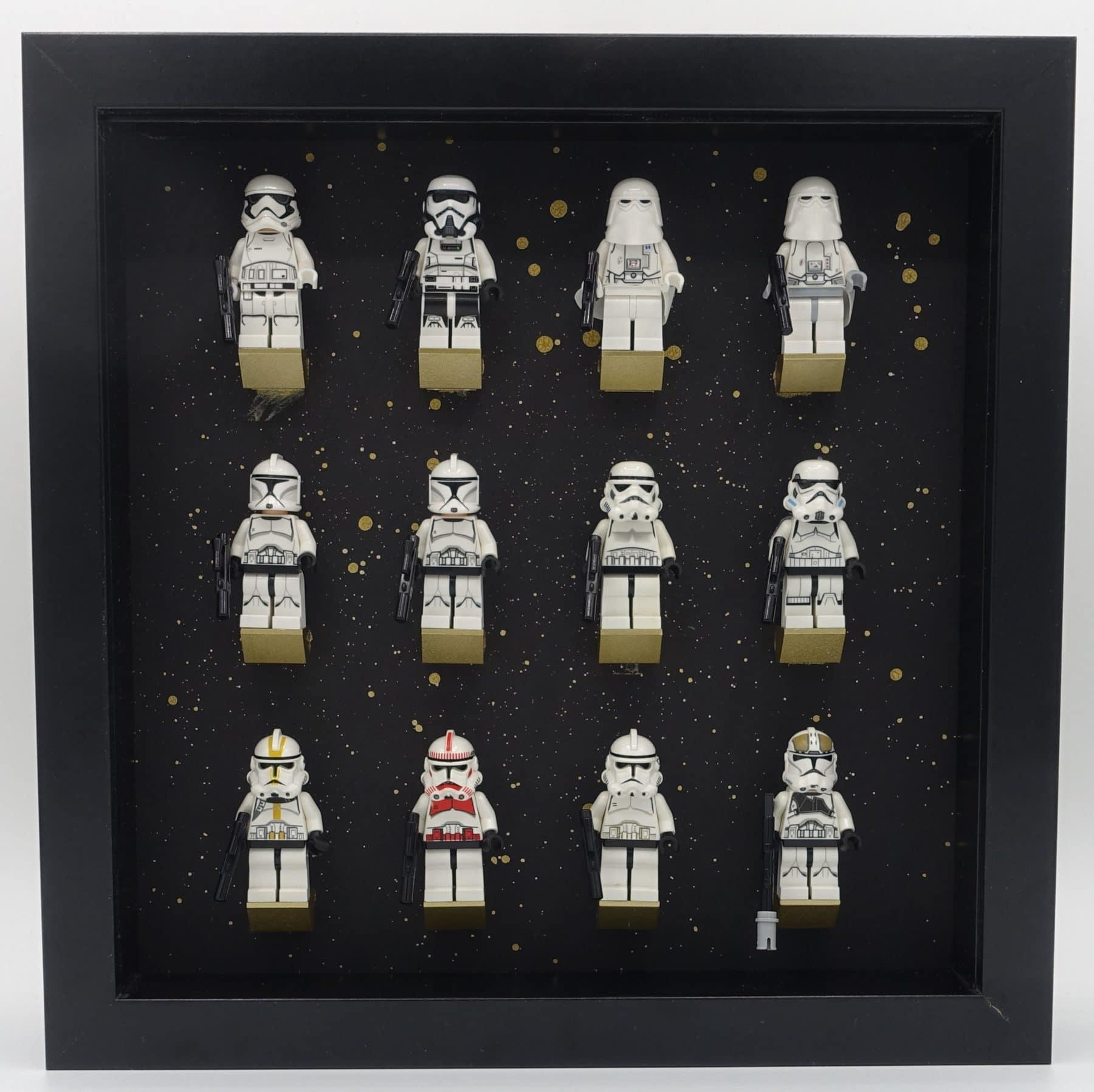 LEGO Star Wars Minifiguren im Bilderrahmen von IKEA