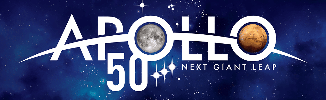 NASA Apollo 50 Logo: Next Giant Leap