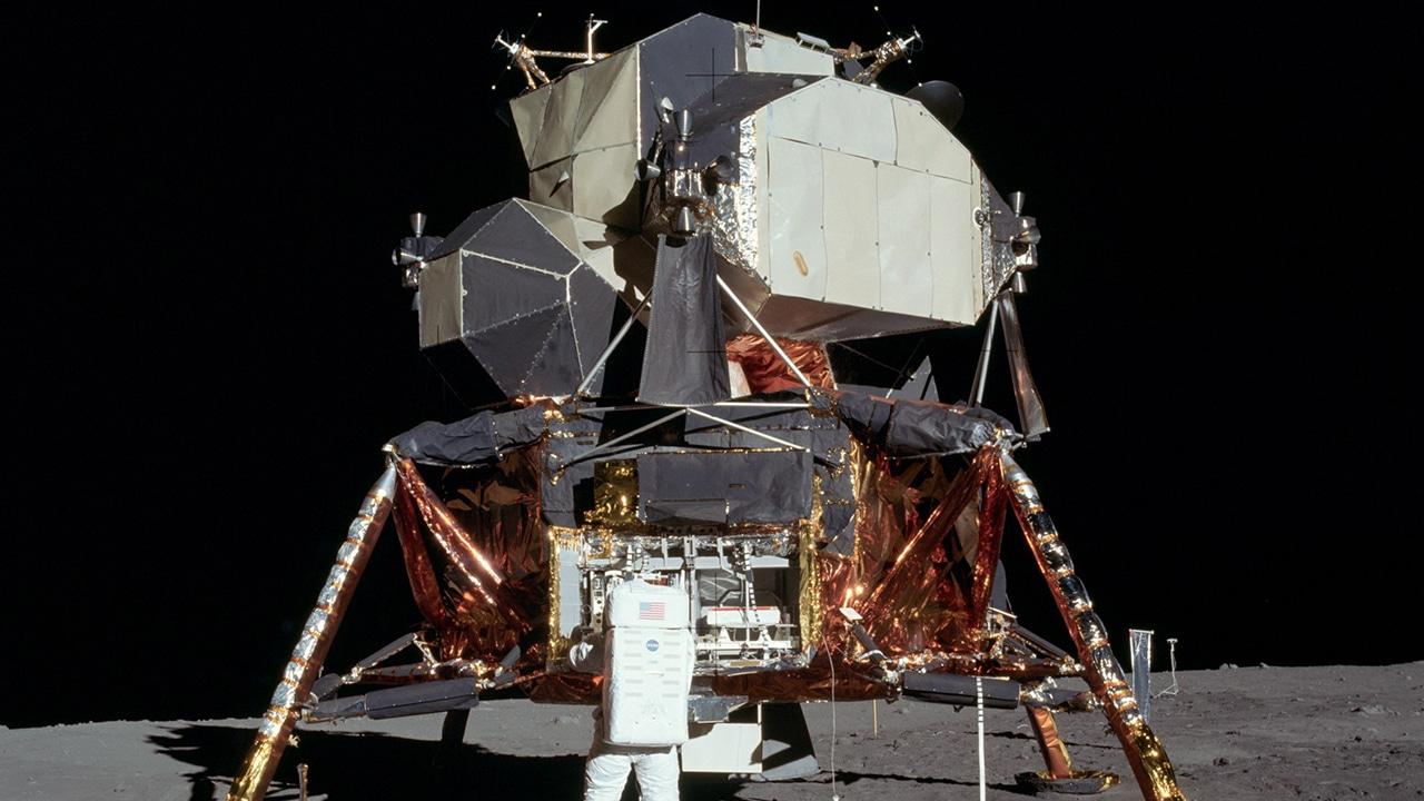 Die Mondlandefähre von 1969: Vorbild für das kommende LEGO 10266 Set?