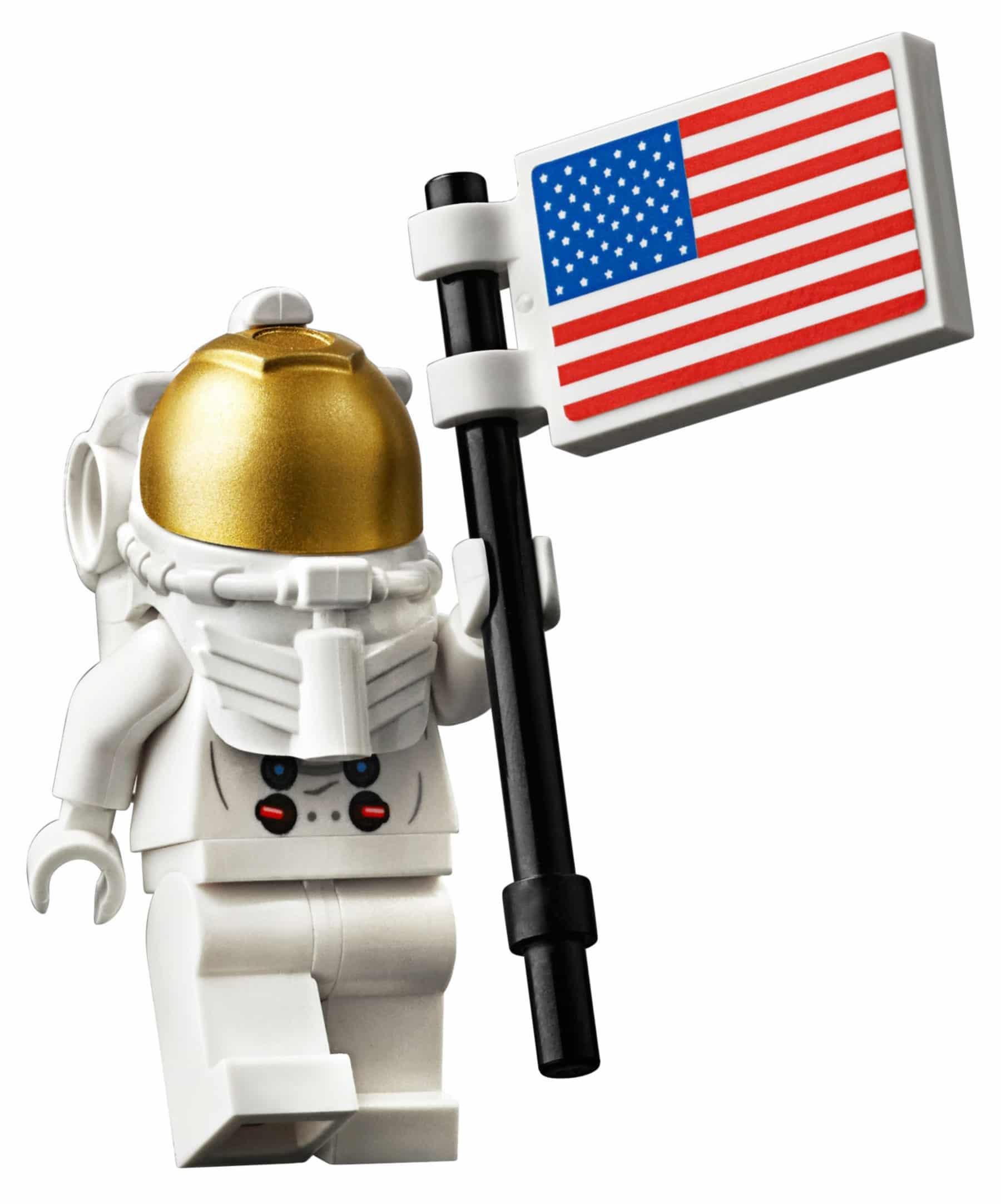 LEGO 10266 NASA Apollo 11 Mondlandefähre Astronauten