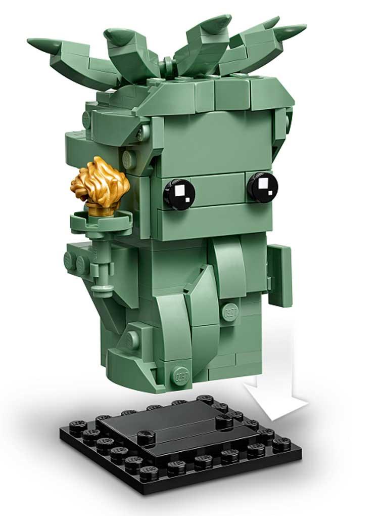 LEGO 40367 Lady Liberty BrickHeadz