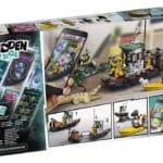 LEGO Hidden Side 70419 Schiff Box Hinten